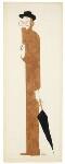 Lytton Strachey, by Nicolas Clerihew Bentley, circa 1928-1930 - NPG  - © reserved; collection National Portrait Gallery, London