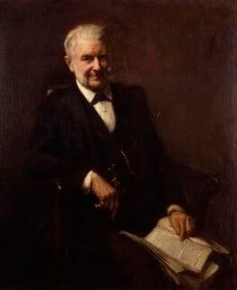 Sir Frederick Augustus Abel, 1st Bt, by Frank Bramley - NPG 4926
