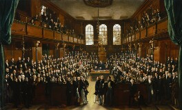 The House of Commons, 1833, by Sir George Hayter, 1833-1843 - NPG  - © National Portrait Gallery, London