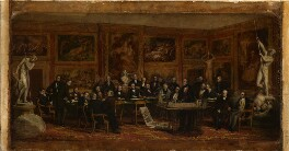 'The Fine Arts Commissioners, 1846', by John Partridge - NPG 343a