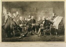 The Coalition Ministry, 1854, by Sir John Gilbert - NPG 1125
