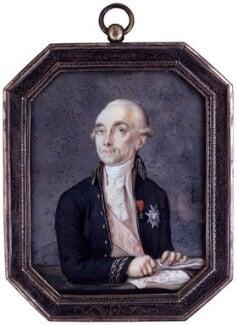 Sir John Francis Edward Acton, 6th Bt, by Peter Edward Stroehling, circa 1792 - NPG 4082 - © National Portrait Gallery, London