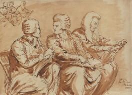 William Adams, James Parke, 1st Baron Wensleydale and Sir Christopher Robinson, by Sir George Hayter, 1820 - NPG 1695(h) - © National Portrait Gallery, London
