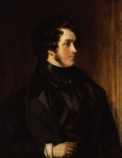 William Harrison Ainsworth, by Daniel Maclise - NPG 3655