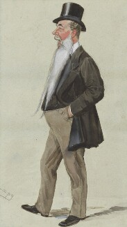 Sir John Aird, 1st Bt, by Sir Leslie Ward - NPG 5014