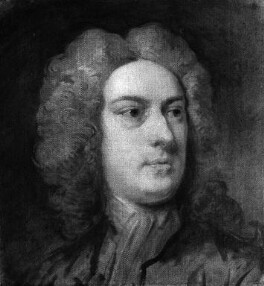 Unknown man, formerly known as John Aislabie, by Unknown artist, circa 1720 - NPG 1754 - © National Portrait Gallery, London
