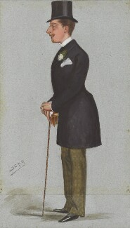 Prince Leopold, Duke of Albany, by Sir Leslie Ward, published in Vanity Fair 21 April 1877 - NPG 4711 - © National Portrait Gallery, London