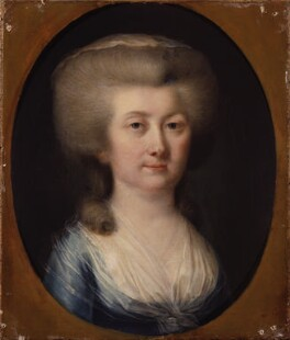 Unknown woman, formerly known as Louisa, Countess of Albany, attributed to Hugh Douglas Hamilton, circa 1785 - NPG 377 - © National Portrait Gallery, London
