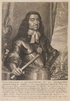 George Monck, 1st Duke of Albemarle, by David Loggan, 1661 - NPG 833 - © National Portrait Gallery, London