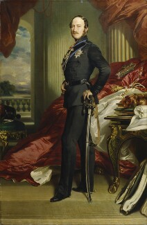 Prince Albert of Saxe-Coburg-Gotha, replica by Franz Xaver Winterhalter, 1867, based on a work of 1859 - NPG  -