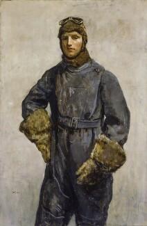 Sir John William Alcock, by Ambrose McEvoy, 1919 - NPG 1894 - © National Portrait Gallery, London