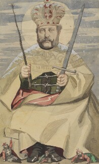 Alexander II, Emperor of Russia, by James Jacques Tissot, published in Vanity Fair 16 October 1869 - NPG 4707(2) - © National Portrait Gallery, London