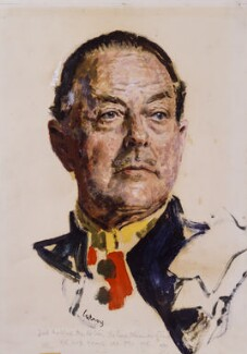 Harold Rupert Leofric George Alexander, 1st Earl Alexander of Tunis, by John Gilroy, 1957 - NPG 4689 - © estate of John Gilroy / National Portrait Gallery, London