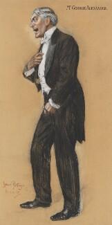 Sir George Alexander (George Samson), by Sir (John) Bernard Partridge, 1909 - NPG 3663 - Reproduced with permission of Punch Ltd