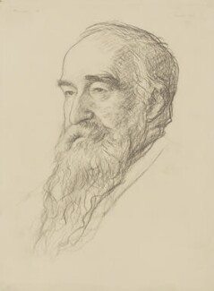 Samuel Alexander, by Francis Dodd, 1932 - NPG 4422 - © National Portrait Gallery, London