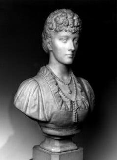 Queen Alexandra, by H. Garland, circa 1883 - NPG 3059 - © National Portrait Gallery, London