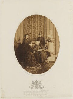 Royal mourning group, 1862, by William Bambridge - NPG P27