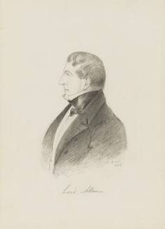 Joshua William Allen, 6th Viscount Allen, by Alfred, Count D'Orsay - NPG 4026(1)