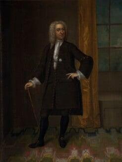 Unknown man, formerly known as Ralph Allen, by Unknown artist, circa 1730 - NPG 1580 - © National Portrait Gallery, London