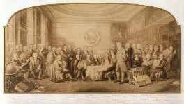 Men of Science Living in 1807-8, by Sir John Gilbert, and  Frederick John Skill, and  William Walker, and  Elizabeth Walker (née Reynolds) - NPG 1075
