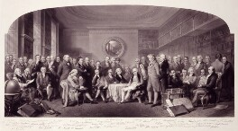 Engraving after 'Men of Science Living in 1807-8', by George Zobel, and  William Walker, 1862 - NPG  - © National Portrait Gallery, London