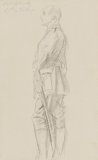 Edmund Henry Hynman Allenby, 1st Viscount Allenby, by John Singer Sargent, circa 1922 - NPG 2908(12) - © National Portrait Gallery, London