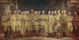 General Officers of World War I, by John Singer Sargent, 1922 - NPG  -