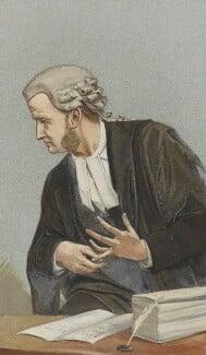 Richard Everard Webster, Viscount Alverstone, by (Pierre) François Verheyden - NPG 2698