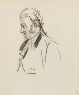Richard Everard Webster, Viscount Alverstone, by Sydney Prior Hall - NPG 2300