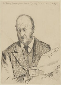 Richard Everard Webster, Viscount Alverstone, by Sydney Prior Hall - NPG 2233