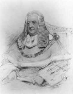 Richard Everard Webster, Viscount Alverstone, by John Seymour Lucas, 1902 - NPG 4337 - © National Portrait Gallery, London