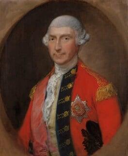Jeffrey Amherst, 1st Baron Amherst, by Thomas Gainsborough, circa 1780 - NPG 150 - © National Portrait Gallery, London