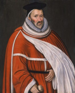 Sir Edmund Anderson, by Unknown artist, 1590s - NPG 2148 - © National Portrait Gallery, London