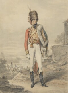 Henry William Paget, 1st Marquess of Anglesey, by Henry Edridge - NPG 313