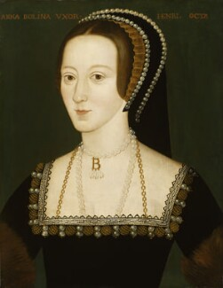 Anne Boleyn, by Unknown English artist - NPG 668
