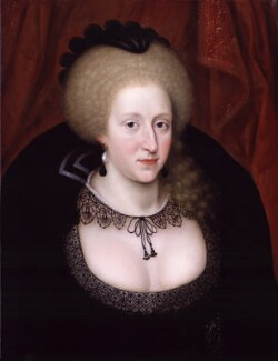 Anne of Denmark, by Unknown artist, circa 1628-1644 - NPG  - © National Portrait Gallery, London