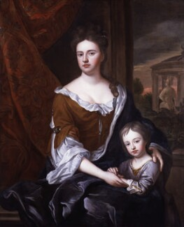 Queen Anne; William, Duke of Gloucester, after Sir Godfrey Kneller, Bt - NPG 325