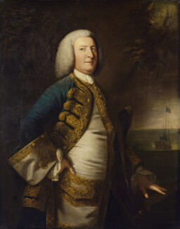 George Anson, 1st Baron Anson, after Sir Joshua Reynolds, 1755-1810, based on a work of 1755 - NPG 518 - © National Portrait Gallery, London