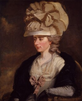 Fanny Burney, by Edward Francisco Burney, circa 1784-1785 - NPG  -
