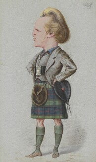 John Campbell, 9th Duke of Argyll, by Carlo Pellegrini, published in Vanity Fair 19 November 1870 - NPG 4629 - © National Portrait Gallery, London