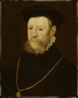 Henry Fitzalan, 12th Earl of Arundel, by Unknown Anglo-Netherlandish artist, 1560s - NPG 4693 - © National Portrait Gallery, London