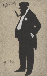 Sir John Dugdale Astley, 3rd Bt, by Phil May - NPG 3173a