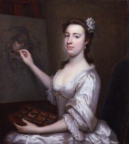 Rhoda (née Delaval), Lady Astley, attributed to Arthur Pond, circa 1750 - NPG 5253 - © National Portrait Gallery, London