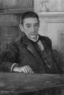 William George Aston, by Minnie Agnes Cohen, 1911 - NPG 1775 - © National Portrait Gallery, London
