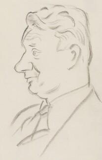 (Francis) David Langhorne Astor, by Sir David Low, 1950s? - NPG 4529(3) - © Solo Syndication Ltd