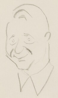 (Francis) David Langhorne Astor, by Sir David Low, 1950s? - NPG 4529(4) - © Solo Syndication Ltd