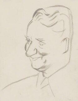 David Astor, by Sir David Low - NPG 4529(6)