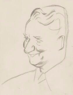 (Francis) David Langhorne Astor, by Sir David Low - NPG 4529(6)