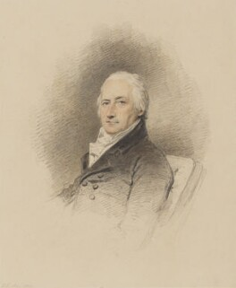 William Eden, 1st Baron Auckland, by Henry Edridge - NPG 122