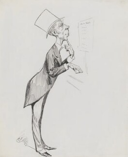 Sir Horace Edmund Avory, by Harry Furniss - NPG 3415